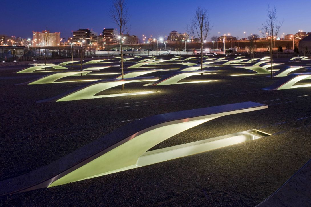 Pentagon 9/11 Memorial – Arlington, Virginia